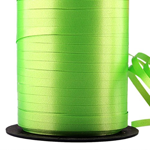 Apple Green - 225 M Curling Balloon Ribbon Birthday Wedding Christmas Arts & Craft Gift Party