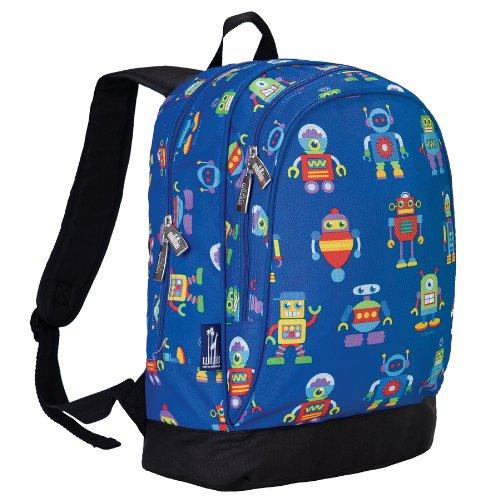 Olive Kids Robots 15 Inch Backpack