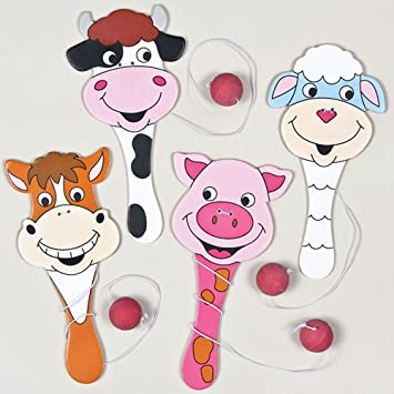 Baker Ross Paletas de Animales de la Granja, Ideales para Bolsas ...
