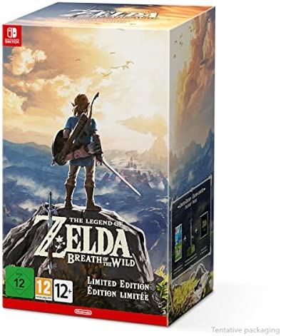 Nintendo Legend of Zelda: Breath of the Wild Limited Edition Switch Limited Nintendo Switch Alemán, Francés,