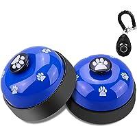 Comsmart Dog Training Bell, Set of 2 Dog Puppy Pet Potty Training Bells, Dog Cat Door Bell Tell Bell with Non-Skid…
