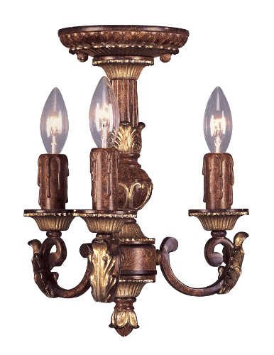 Livex Lighting 8583-63 Villa Verona Mini Chandelier - Lighting Villa Traditional Chandelier