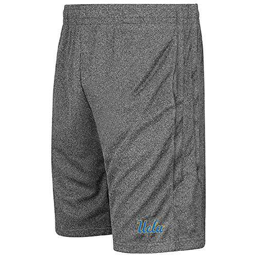 Colosseum NCAA Youth-Boys and Girls-Athletic Training Shorts-Heather Grey-UCLA Bruins-Youth Medium from Colosseum