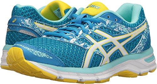 ASICS Women's Gel-Excite 4 Running Shoe, Diva Blue/White/Sun, 6 M US