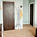 HOME BI Coat Rack Stand, Coat Hanger with 9 Hooks
