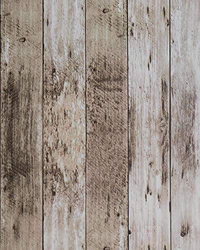 Rustic Wood Contact Paper Wood Wallpaper 17.7