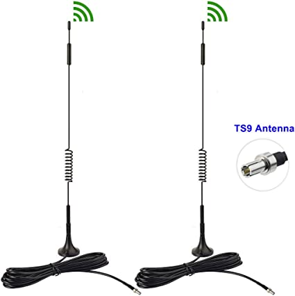 4G LTE 7dBi Magnetic Mount TS9 Antenna for Verizon 4G LTE Mobile WiFi Hotspot AP