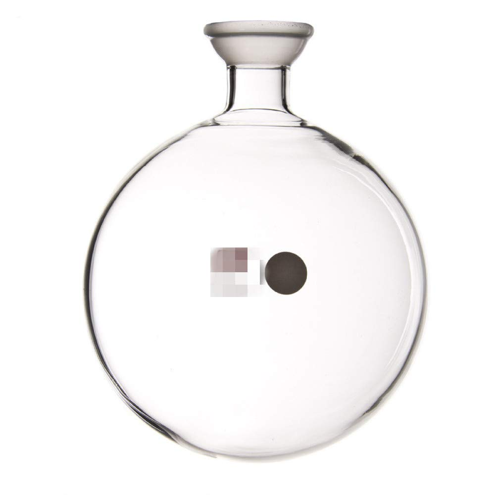 juler Ball Grinder Flask 1000ml Rotary Evaporator Accepts Bottle Mill Does not Leak air,Transparent,500Ml