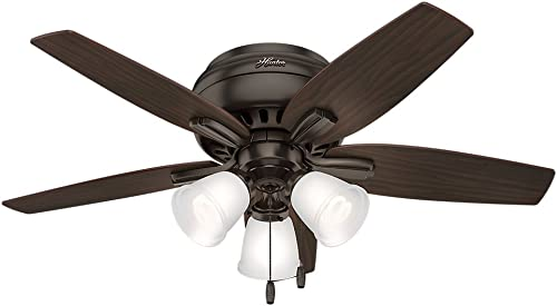 Hunter Fan Company 51078 Newsome Indoor Low Profile Ceiling Fan