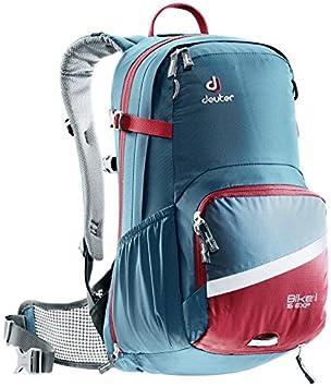 Deuter Bike I Air EXP Mochila para Ciclismo, Unisex Adulto, Azul (Arctic/Cranberry), 16 l: Amazon.es: Deportes y aire libre