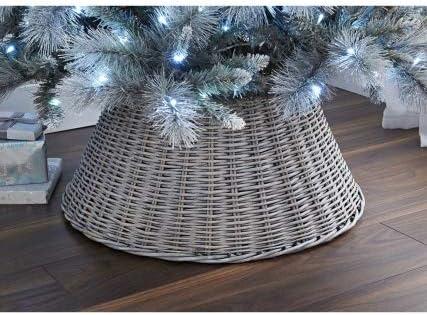 Crazyshop - Falda de Mimbre para árbol de Navidad (65 cm): Amazon ...