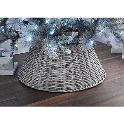 Ash Christmas Tree Skirt Crazyshop  New Large Wicker Tree Skirt 65cm