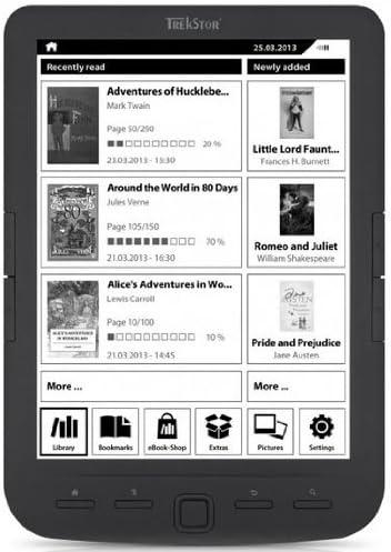 Trekstor Pyrus Maxi - E-Reader (Pantalla 8