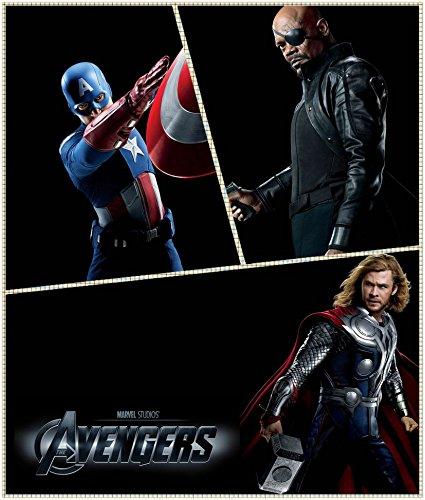 The Avengers (14x16 inch, 35x41 cm) Silk Poster Seda Cartel ...