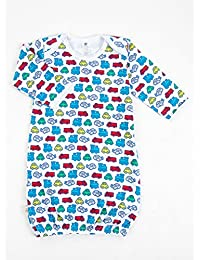 Tadpoles Cotton Sleep Gown, Little Driver, 0-6 Months