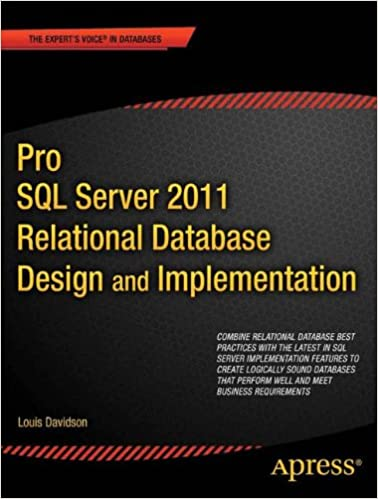 pro sql server 2012 relational database design and implementation experts voice in sql server louis davidson jessica moss 9781430236955 amazoncom - Relational Database Design Software