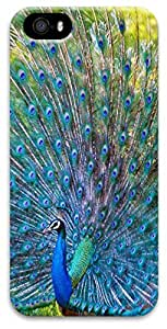 iPhone 5 iPhone 5s 3D Case,Animal-Peacock Case for iPhone 5/5s