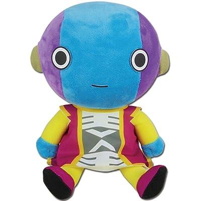 Great Eastern Entertainment Dragon Ball Super - Zeno Sama Sitting Plush 7'', Multicolor: Toys & Games