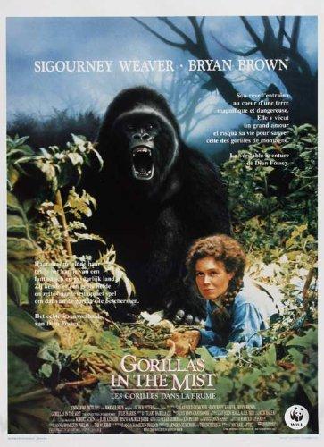 Gorillas in the Mist (Belgian ) POSTER (11