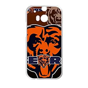 Chicago Bears Design Fashion Comstom Plastic case cover For HTC One M8