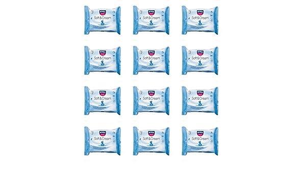 12 x Toallitas Higiénicas Nivea baby Soft y Cream Toallitas para bebé niños: Amazon.es: Bebé