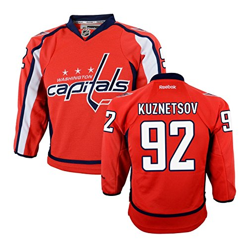 Youth Washington Capitals Evgeny Kuznetsov Red Replica Home Jersey Size Youth L/XL