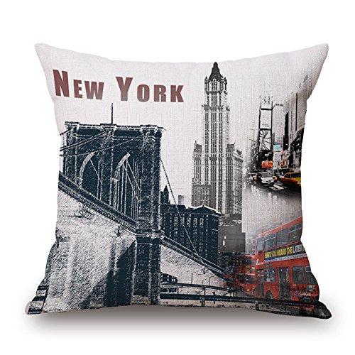 throw pillow new york - 8