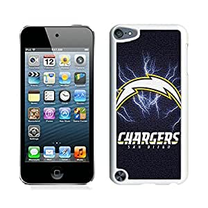 San Diego Chargers 44 White iPod Touch 5 Cellphone Case Custom and Genuine Design