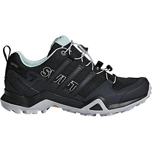 adidas outdoor Women's Terrex Swift R2 GTX¿ Black/Black/Ash Green 8 B - Women Outdoor Adidas Shoes