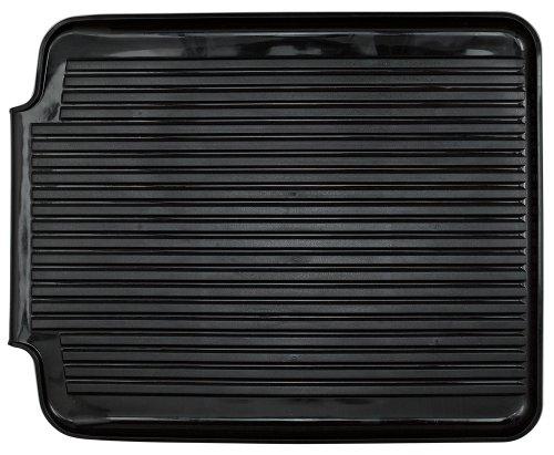 Better Houseware 1480/E Large Dish Drainer Board, Black