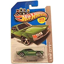 2013 Hot Wheels HW City'70 Toyota Celica Green #1/250