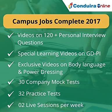 Conduira campus jobs gdpi power pack 6 months package (voucher.