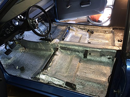 Car Insulation 4 X 10 Roll 40 Sqft Sound Deadener