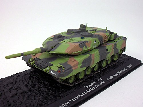 Leopard 2A5 German Main Battle Tank 1/72 Scale Diecast Model ()