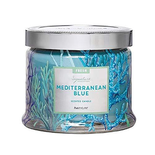Partylite Signature Jar Candles (Mediterranean Blue)