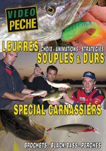 Special Perch (Leurres souples & durs spécials carnassier : Brochets - Black-bass - Perches avec Mathieu Couradeau - Vidéo Pêche - Pêche des carnassiers)
