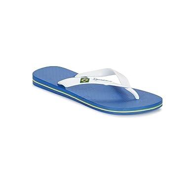 Ipanema Tongs  Classica Brasil Ii Blue / White Bleu - Chaussures Tongs Femme