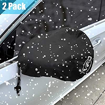 Tvird Side Mirror Cover, Snow and Ice Mirror Cover for Car 2 Packs, Frost- Resistant Waterproof Anti Bird Side View Mirror Cover,Universal Size Fit for Cars SUV Trucks.: Automotive