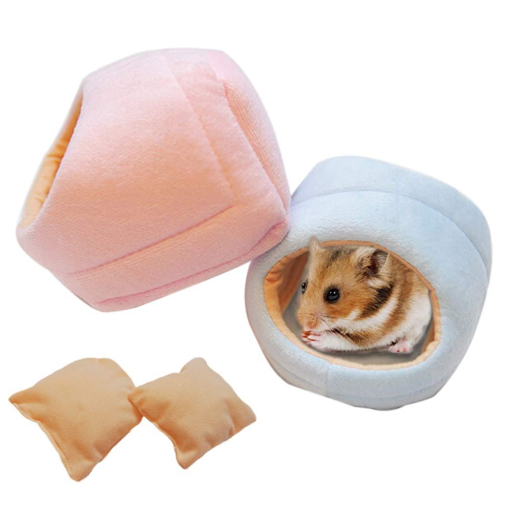 Finance Plan Slipper Shape Pet Hamster Squirrel Nest Soft Winter Fall Warm House Bed Supplies by Finance Plan (Image #3)