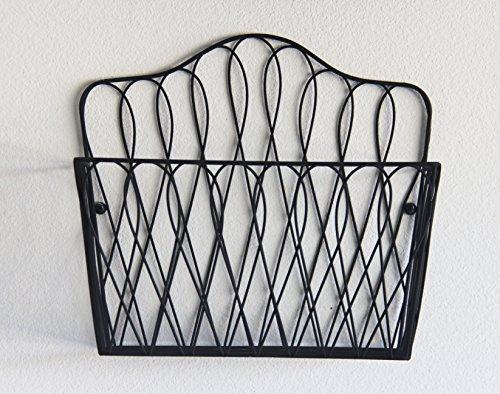 Tagway Home Wall Mount Storage Magazine Rack Fruit Basket