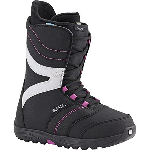 Burton Coco Womens Snowboard Boots 2016 - 7.0/Black-Purple