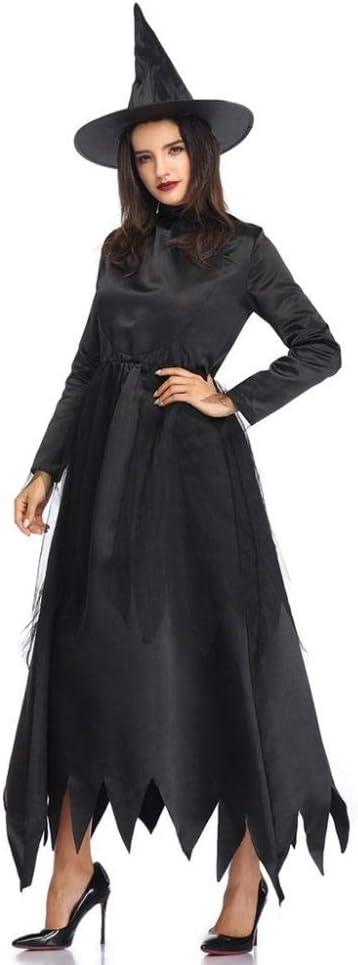 FUPOA Disfraces de Bruja Sexy de Halloween Mujeres Adultas Reina ...