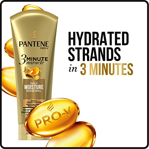 Pantene Moisture Renewal 3 Minute Miracle Deep Conditioner, 6 Fluid Ounce by Pantene (Image #3)