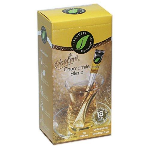 Serengeti Tea Chamomile Blend Tea Box with 18 Tea Sticks