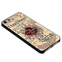 Happiness Quote Harry Potter for Iphone Case (iPhone 5/5s black)