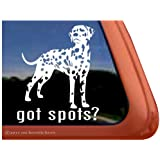 Got Spots? Dalmatian Dog Vinyl Window Decal Sticker