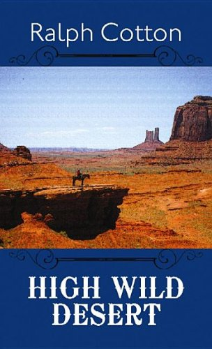 book cover of High Wild Desert