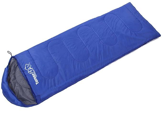 wasserdicht mit komprimierter Rei/ßverschluss-Tasche Erwachsene oder Kinder mit H/ülle Turnermax Outdoor-Multifunktions-Schlafsack f/ür eine Person f/ür Outdoor-Aktivit/äten Camping Wandern