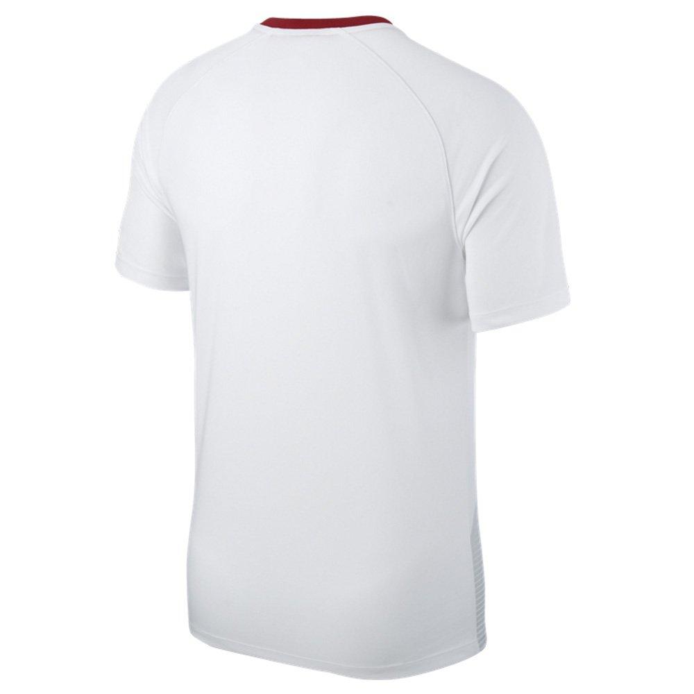 Nike Pol Y Nk Nk Nk Brt Ftbl Top Ss Hm - Weiß sport rot sport rot - Fan-T-Shirts-Polos-Kinder B07CLZX5FC T-Shirts Macht das Leben 20b09a