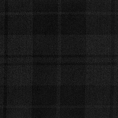 Douglas Dark Tartan Fabric 13oz 100% Pure Wool